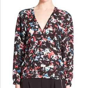 Parker Tops - Parker Mae Silk Blouse with Open Back